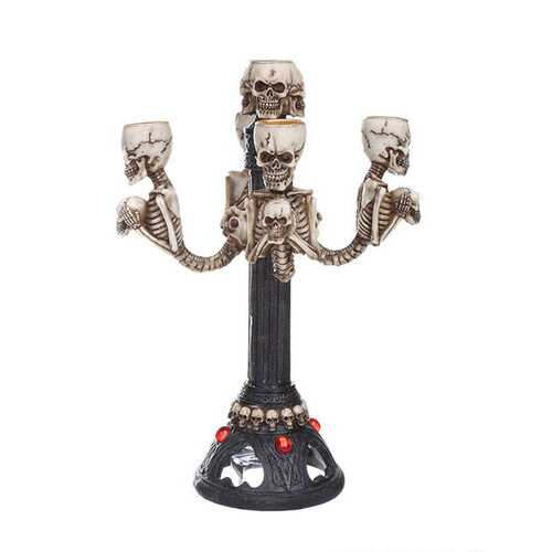 Skull Candlestick