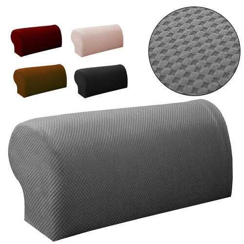 2PCS Premium Furniture Armrest Cover Sofa