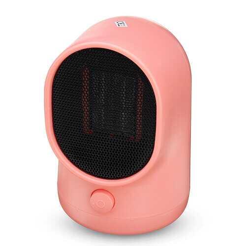 500W Portable Electric Space Heater Desktop Heating Fan
