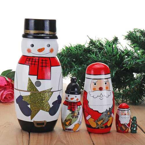 Christmas Gifts Matryoshka Doll