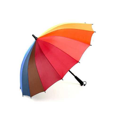 16k Rib Color Rainbow Fashion Long Handle Fashion Long Handl