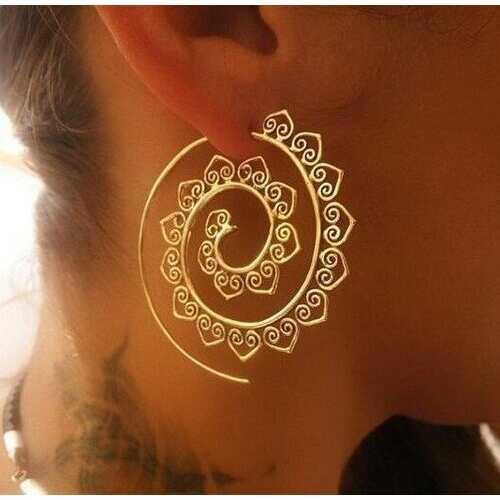 Fashion Spiral Earrings