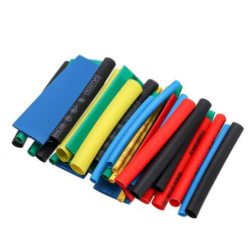 560Pcs Heat Shrink Wire Cable Tubing Tube Wrap