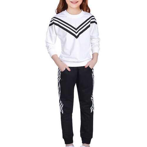 Sailor Striped Long Sleeve T Shirt And Pants Set