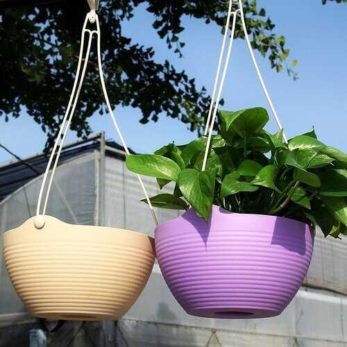 Resin Hanging Flower Pot