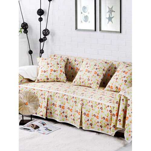 1-4 Seater Thicken Cotton Blend Sofa Cover