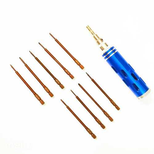 10 IN 1 Screwdriver Set Professional Disassembly Precision