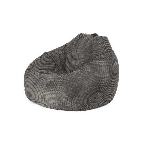 100x120cm Solid Color Corduroy Bean Bag Chair Cover