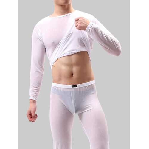Super Thin Mesh Sleepwear Sets