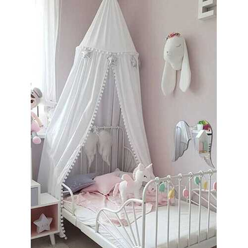 Round Ball Children Bed Canopy Bedcover Mosquito Net Curtain Bedding Dome