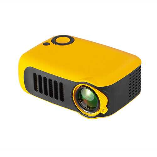 TRANSJEE A2000 Projector 800 Supported 1080P 23 Languages