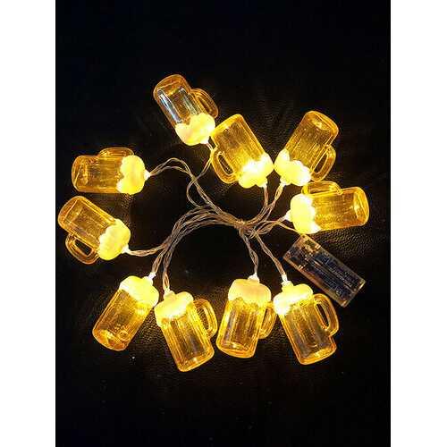10 LED Festival String Light