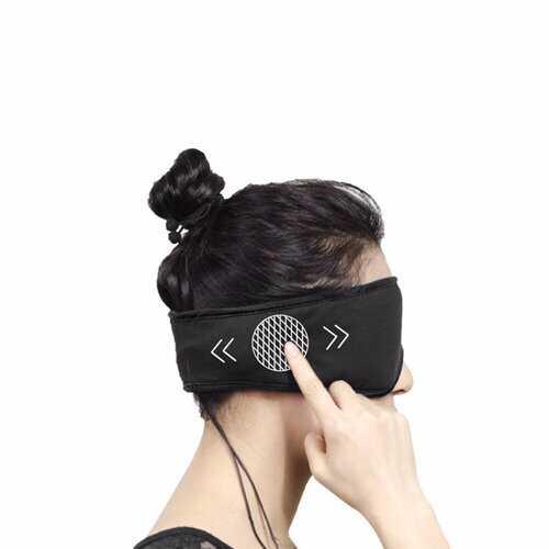 Eye Mask With Noise Cancelling Earphone