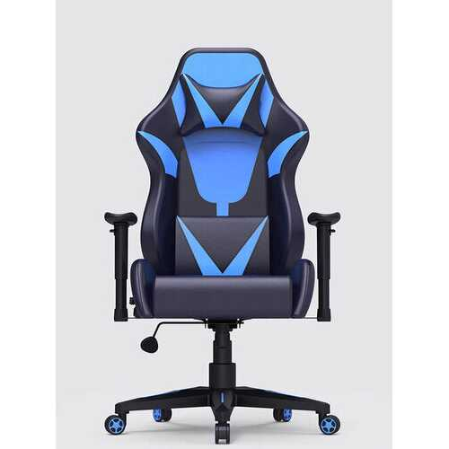 <US Instock> AutoFull Ergonomic Racing Gaming Chair Adjustable Recline Angle PU Leather Folding Chair with Mute Wheel from