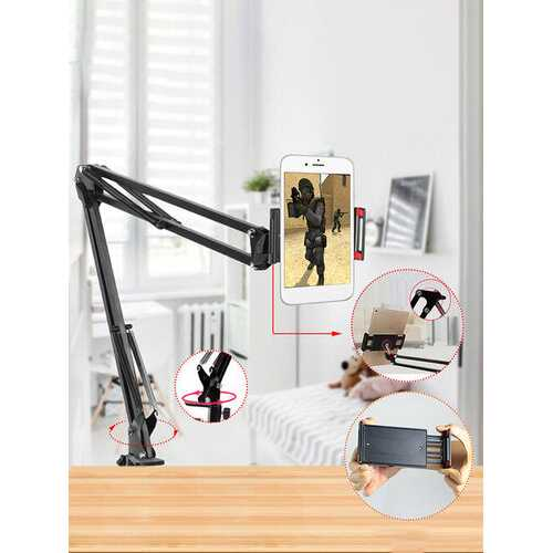 1PC Adjustable Durable Tablet Stand Phone Holder