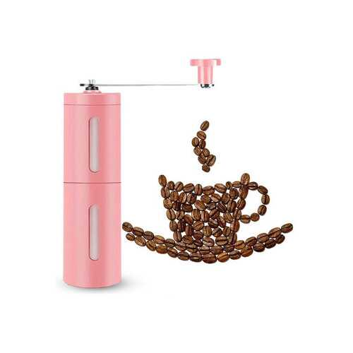 Stainless Steel Portable Hand Bean Mill Coffee Grinder Maker
