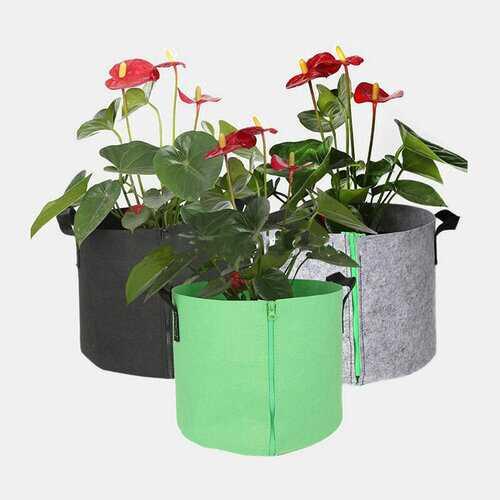 Plants Growing Bag Vegetable Flower Pot