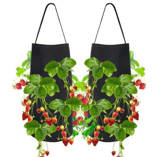 Planting Bag Non woven Hanging Strawberry Planting Bag