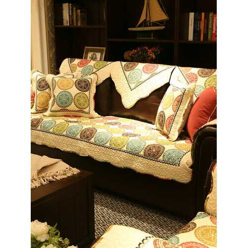 1/2/3/4 Seat Universal Quilted Sofa Couch Cover