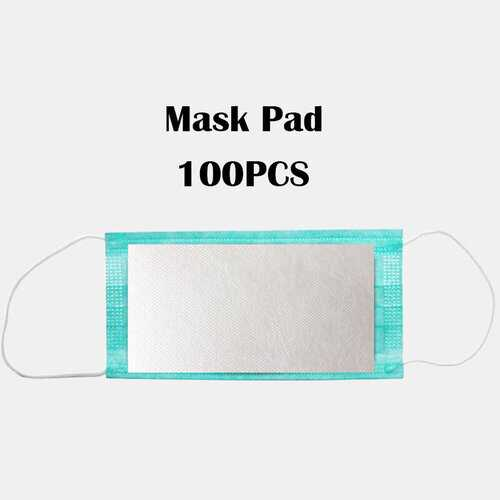 100 Pieces Disposable Mask Inner Pad