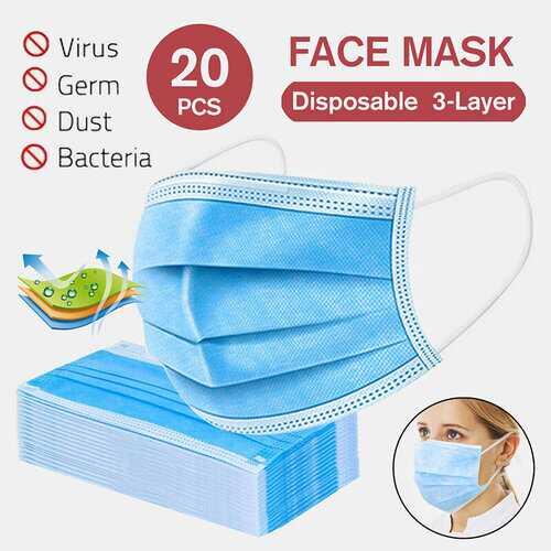 20Pcs Disposable Masks