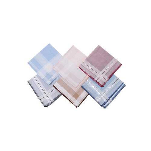 <US Instock>15Pcs 100% Pure Cotton Stripe Wipe Sweat Towels Square Soft Hanky Large Handkerchief