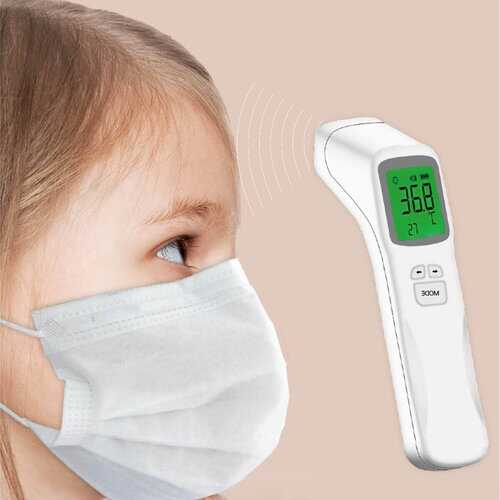 Portable Infrared Non-Contact Forehead Thermometer 3-Colors
