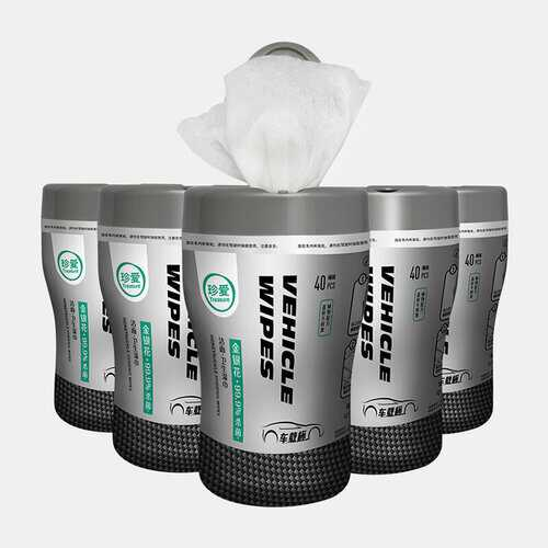 Portable Car Cup Wet Wipes