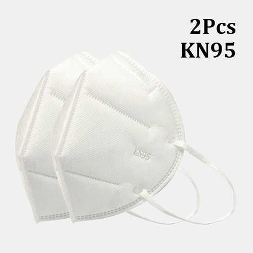 2 Pieces / Pack 0f KN95 Masks Passed The GB-2626-KN95 Test