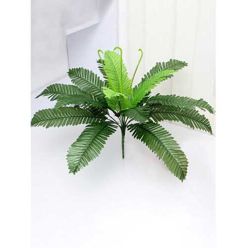 Core With 18 Heads Of Artificial Plants Iron Leaves