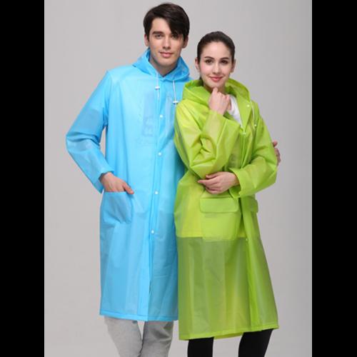 EVA Outdoor Adult Raincoat Dust-proof