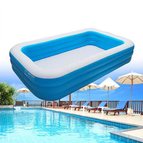 210/180/150/130CM 3-layer Inflatable Swimming Pool Portable Outdoor Adult Children Summer Children Water Toys