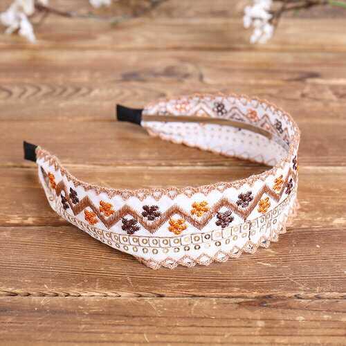 Floral Fabric Headband