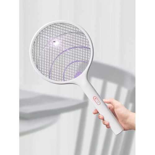 2in1 Electric Mosquito Swatter Dispeller /Mosquito Killer Lamp Wall-mounted Mosquito Killing Dispeller USB Charging With Base Bracket