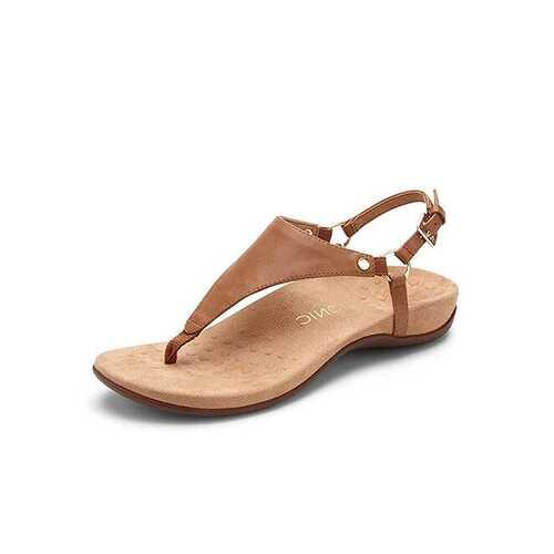 Metal Slingback Sandals