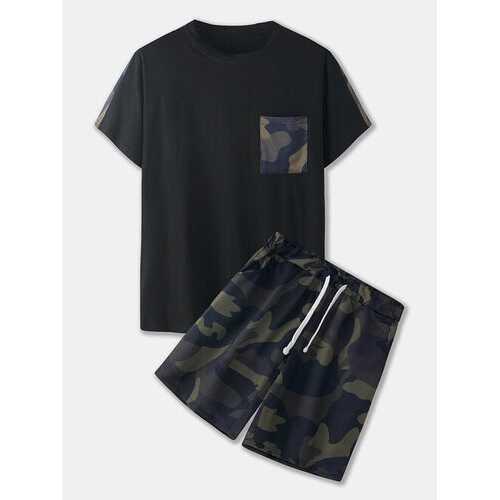 Camo & Patchwork Print Suits