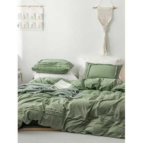 3 pcs/set 100% Cotton King Bedding Set Ultra Soft Hotel Comforter Cover Duvet Cover Bed Sheet Pillowcase
