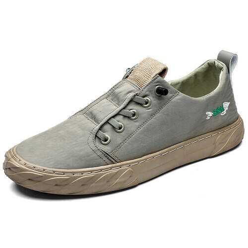 Men Ice Silk Breathable Skateboard Shoes