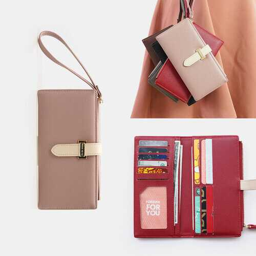 12 Card Holders Bifold Wallet Purse