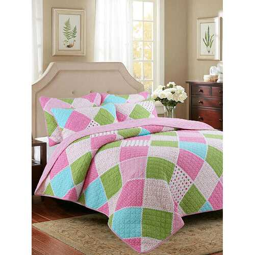 2/3Pcs Quilt Student Bed Cover Pure Cotton Lace Children's Air Conditioner Quilted Baby Home Textiles