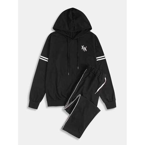Cotton Casual Hooded Suits