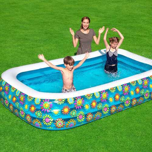 Children's Inflatable Swimming Pool PVC Thickened Baby Swimming Bucket Adult Family Bath TubC