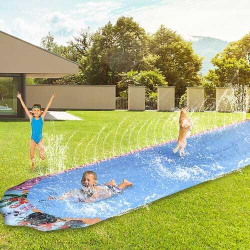 Children's Lawn Game Series-Single Waterslide