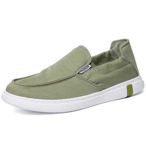 Men Ice Silk Cloth Skateboard Shoes