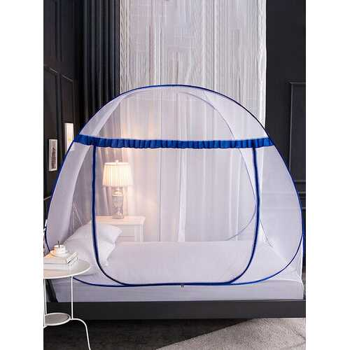 Mosquito Net Installation-Free Household Pops-up Mesh Tent Folding Pattern Account Adult Anti-Fall Encryption Mosquito Net
