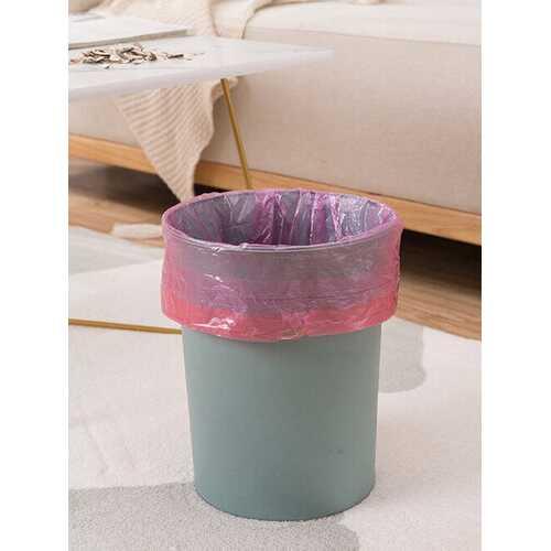 Household Portable Thickened Garbage Bag Drawstring Closure Kitchen Disposable Large Garbage Bag