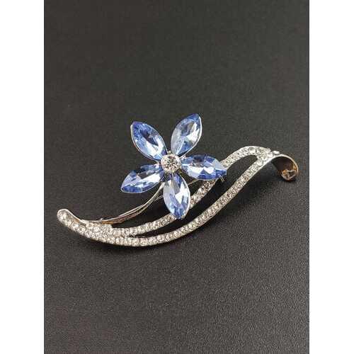 Diamond Flower Women Brooch