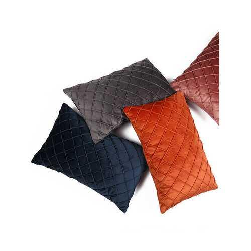 Solid Color Rectangle Hug Pillowcase Sofa Backrest Pillow Cushion Hug Pillowcase Office Lumbar Hug Pillowcase