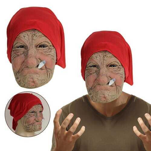 Halloween Old Man Funny Mask