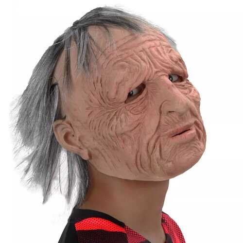 Halloween Scary Wig Mask